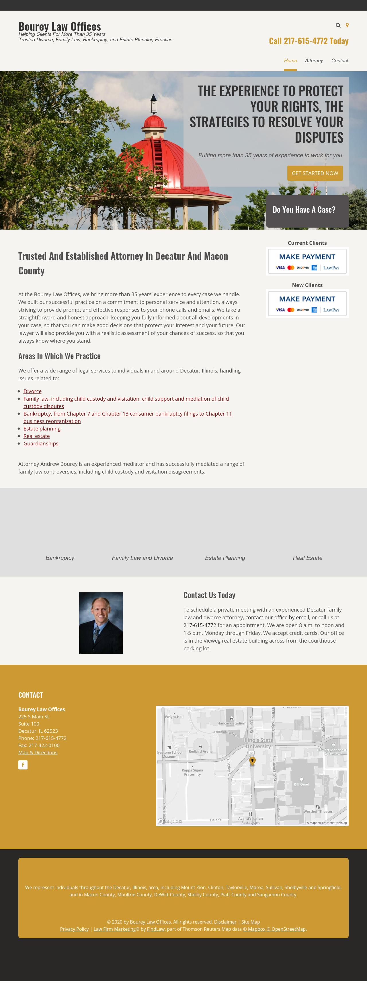 Bourey Law Offices - Decatur IL Lawyers