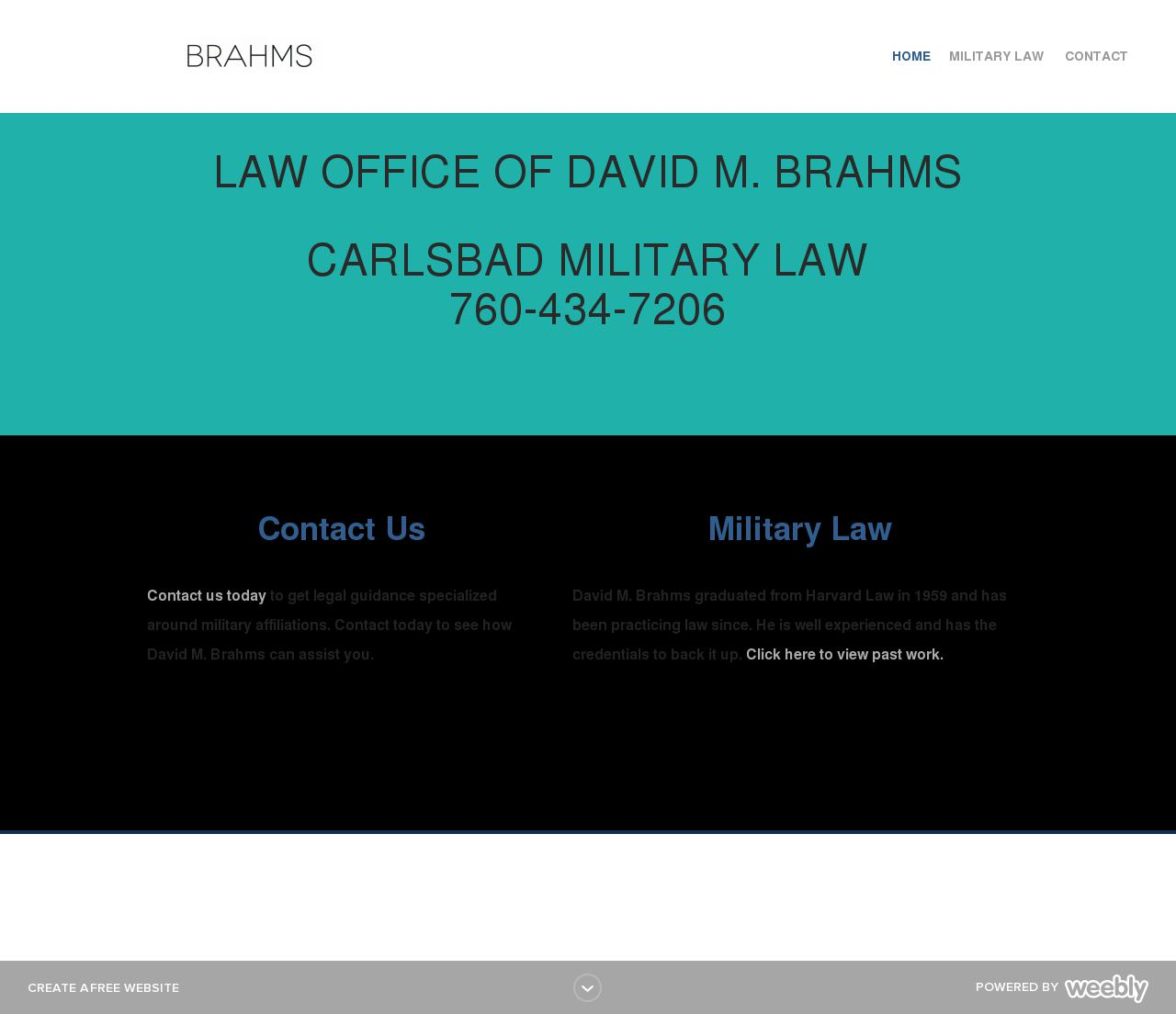 Brahms David Law Offices Of - Carlsbad CA Lawyers
