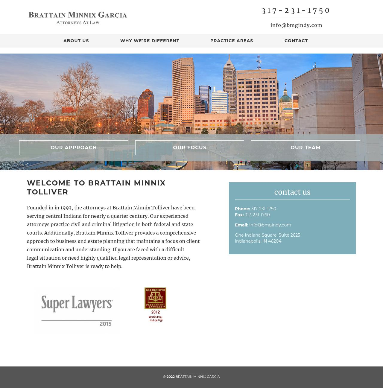 Brattain & Minnix - Indianapolis IN Lawyers
