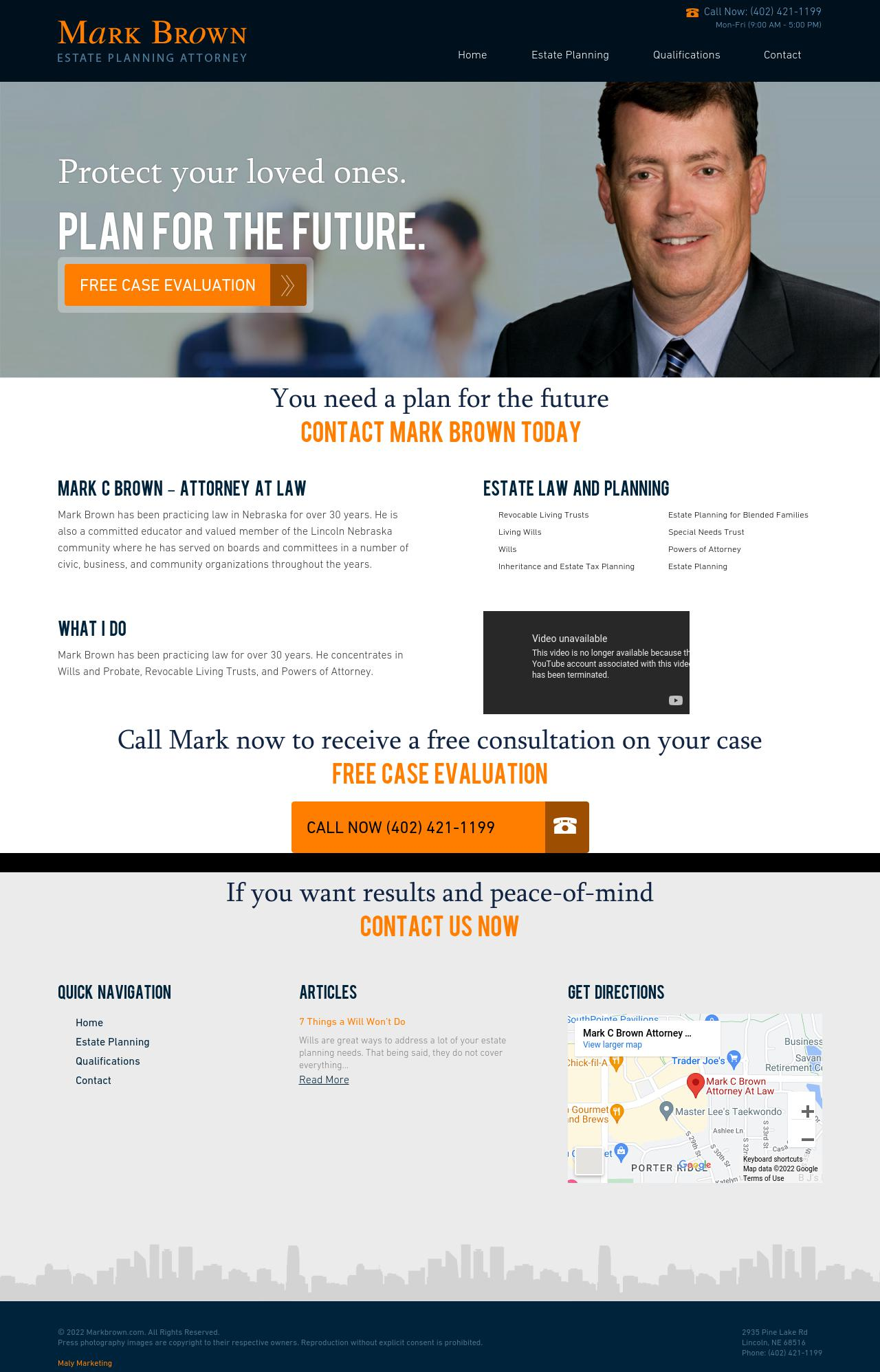 Brown Mark C. Attorney - Lincoln NE Lawyers