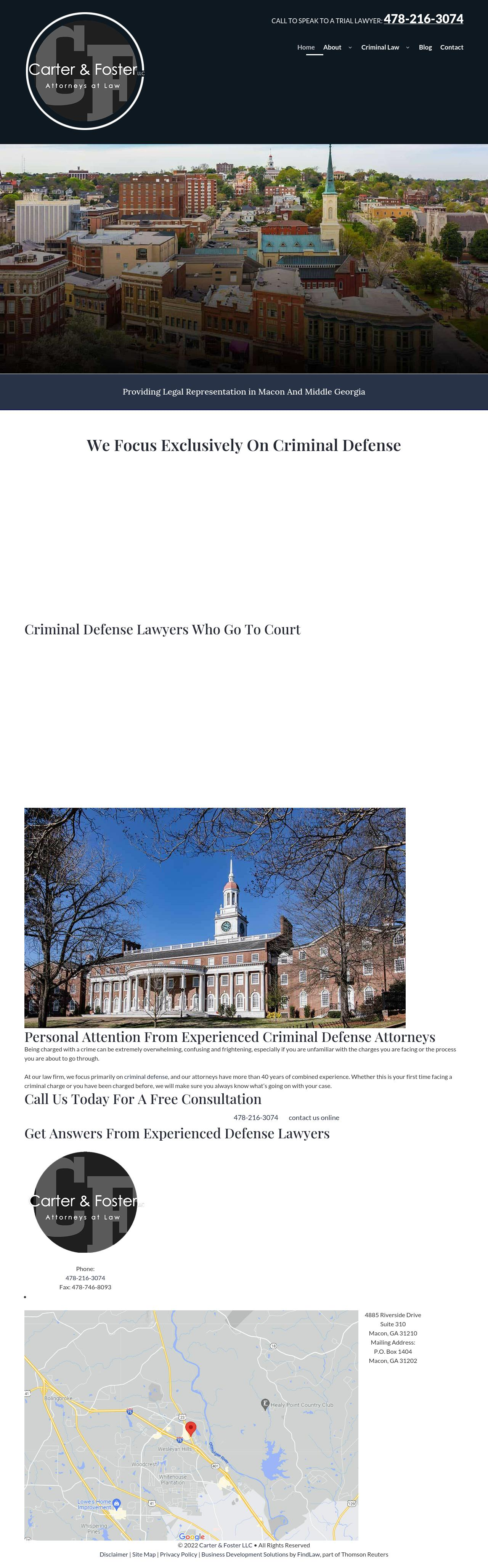 Carter & Foster LLC - Macon GA Lawyers