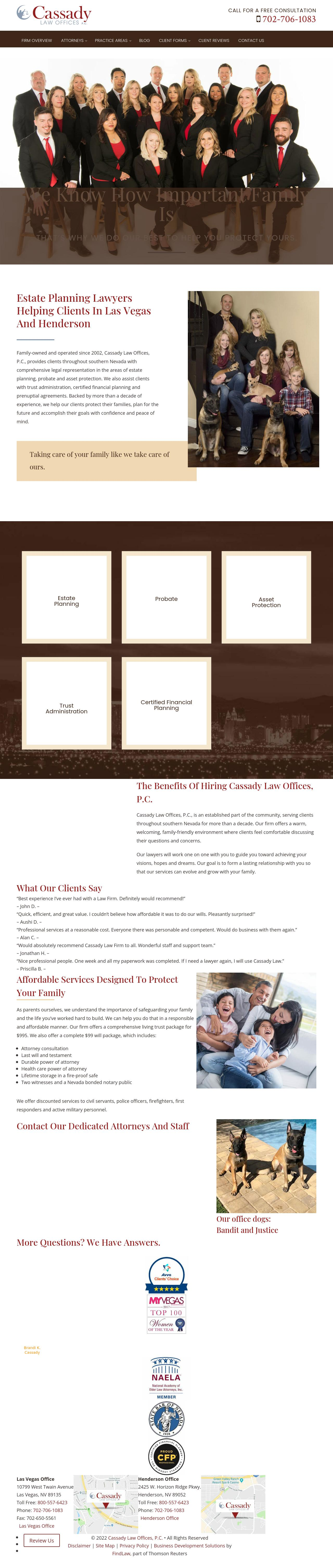 Cassady Law Offices, P.C. - Henderson NV Lawyers