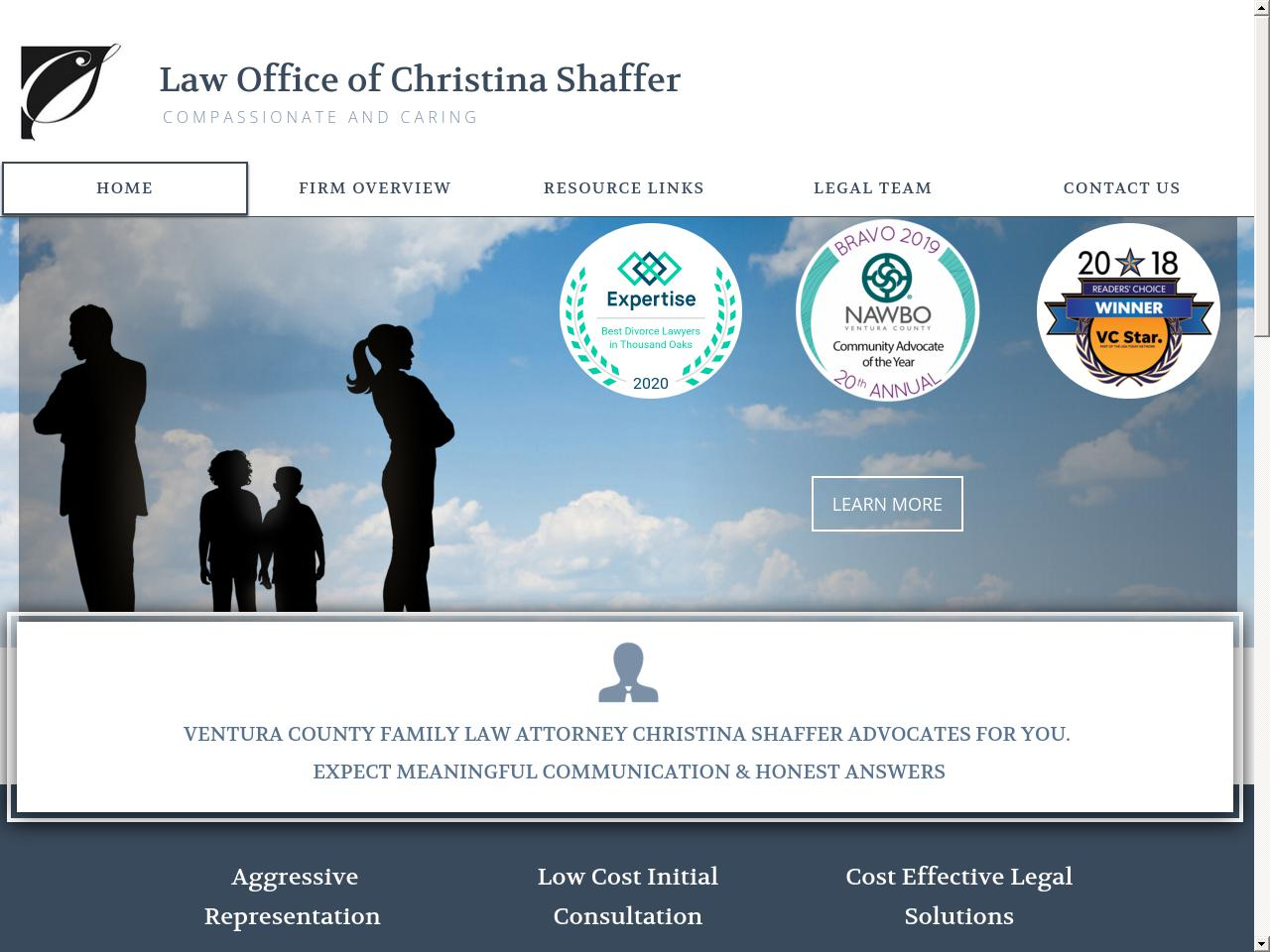 Christina Shaffer - Thousand Oaks CA Lawyers