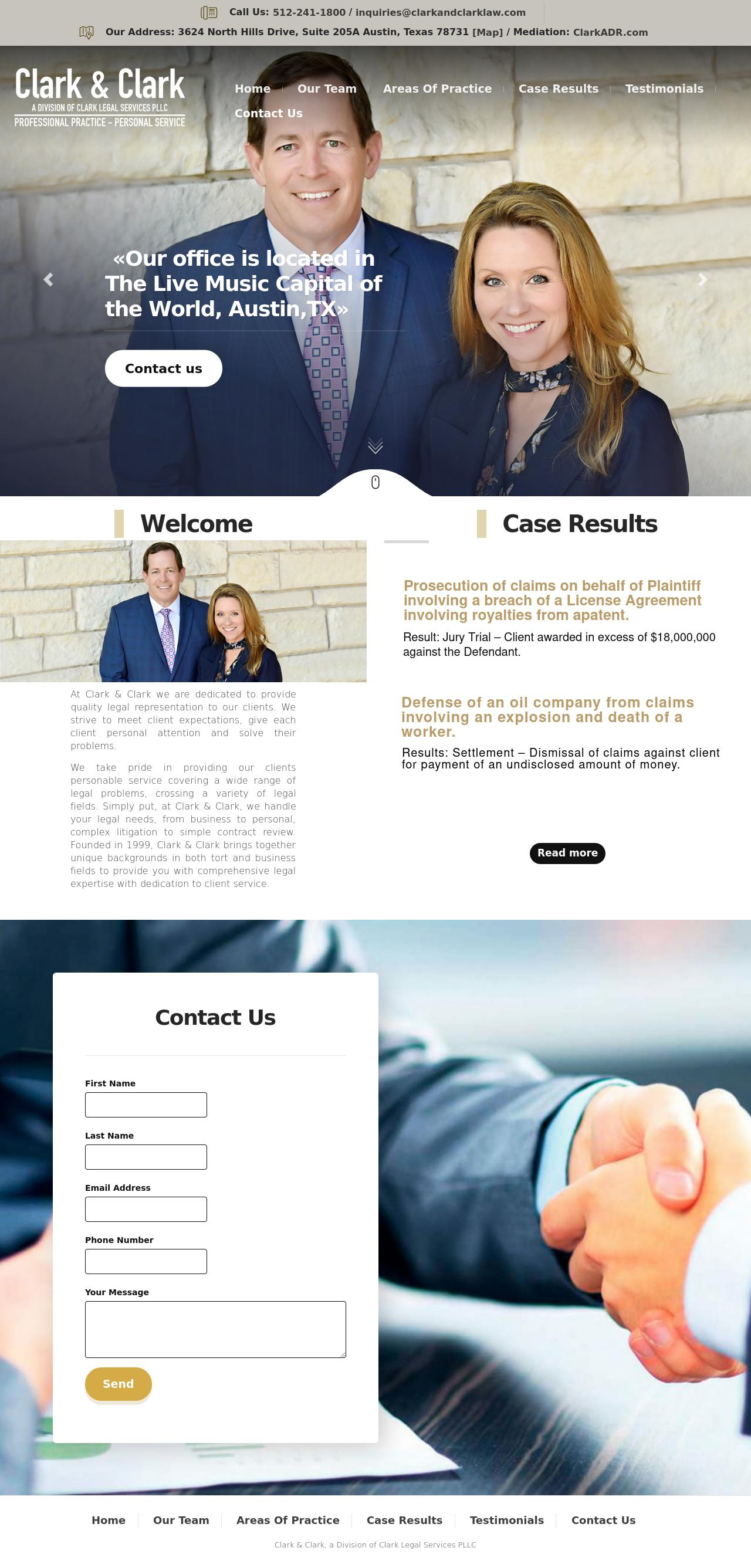Clark and Clark - Austin TX Lawyers