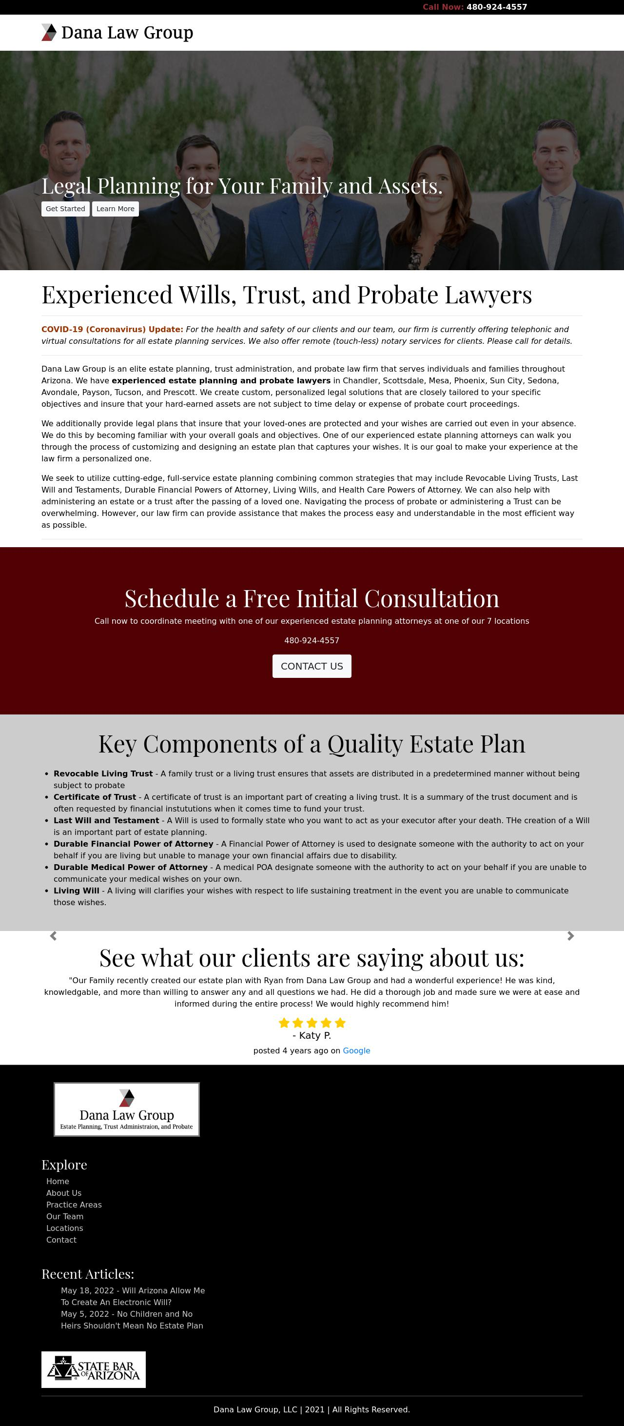 Dana Law Group, LLC - Scottsdale AZ Lawyers