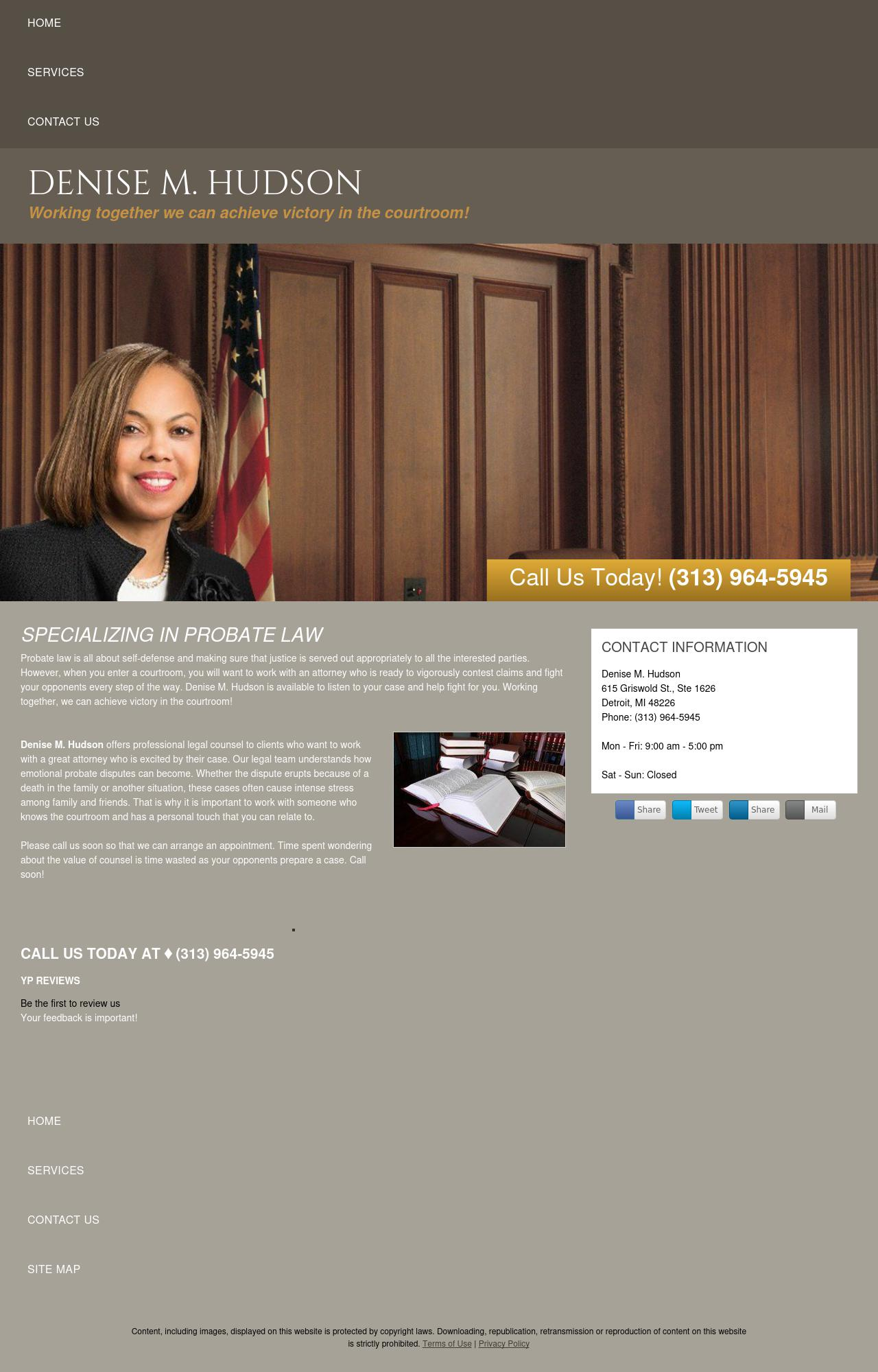Denise M. Hudson - Detroit MI Lawyers