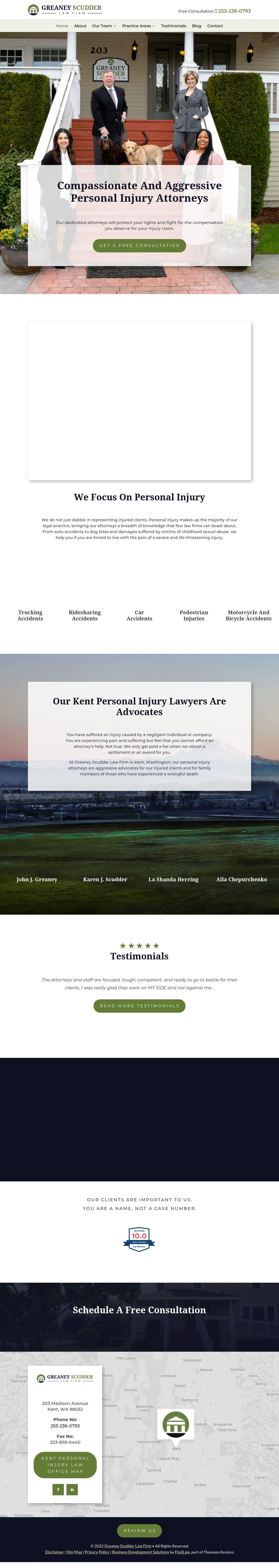Greaney Law Firm, PLLC - Kent WA Lawyers