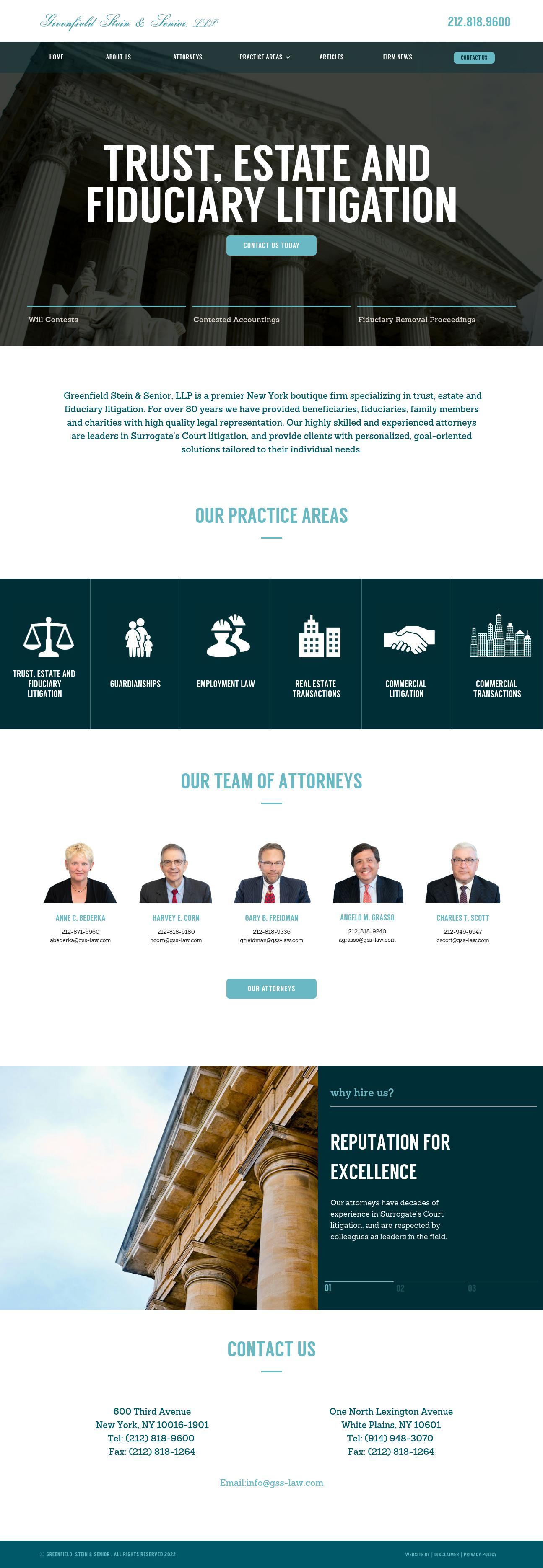 Greenfield Stein & Senior, LLP - New York NY Lawyers