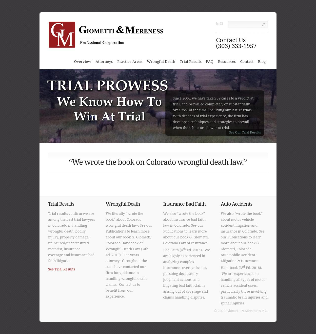 Gregory R Giometti & Associates P C - Denver CO Lawyers