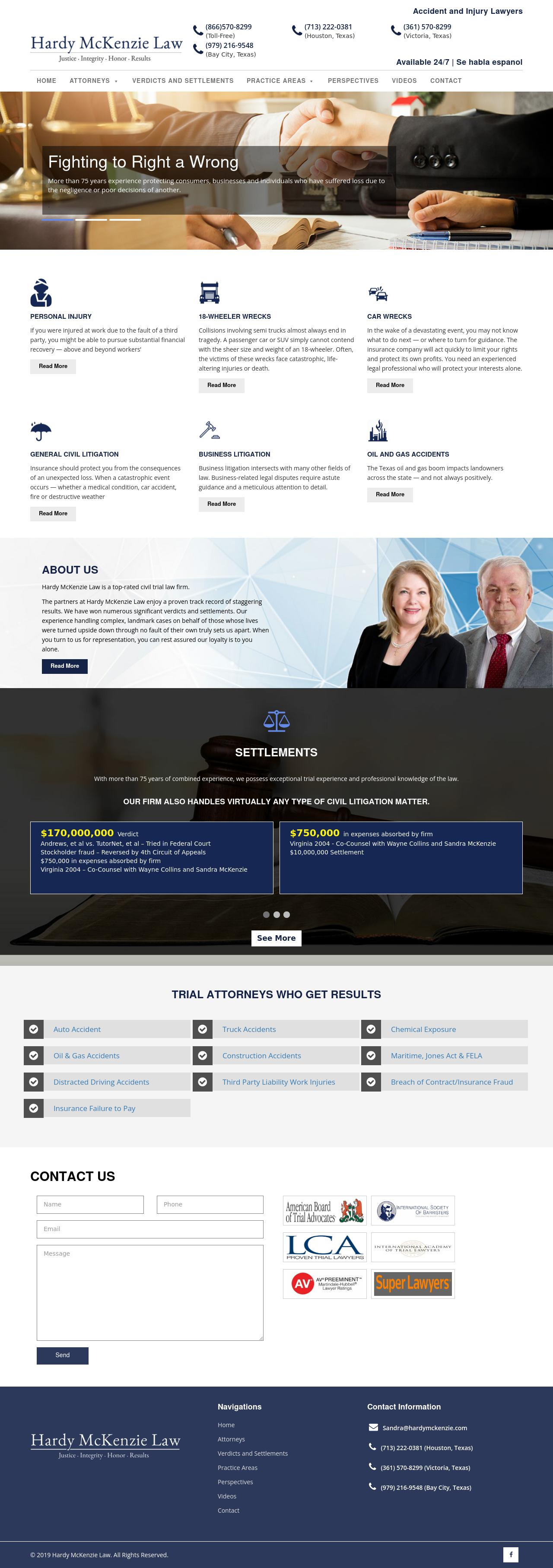 Hardy McKenzie Law - Houston TX Lawyers