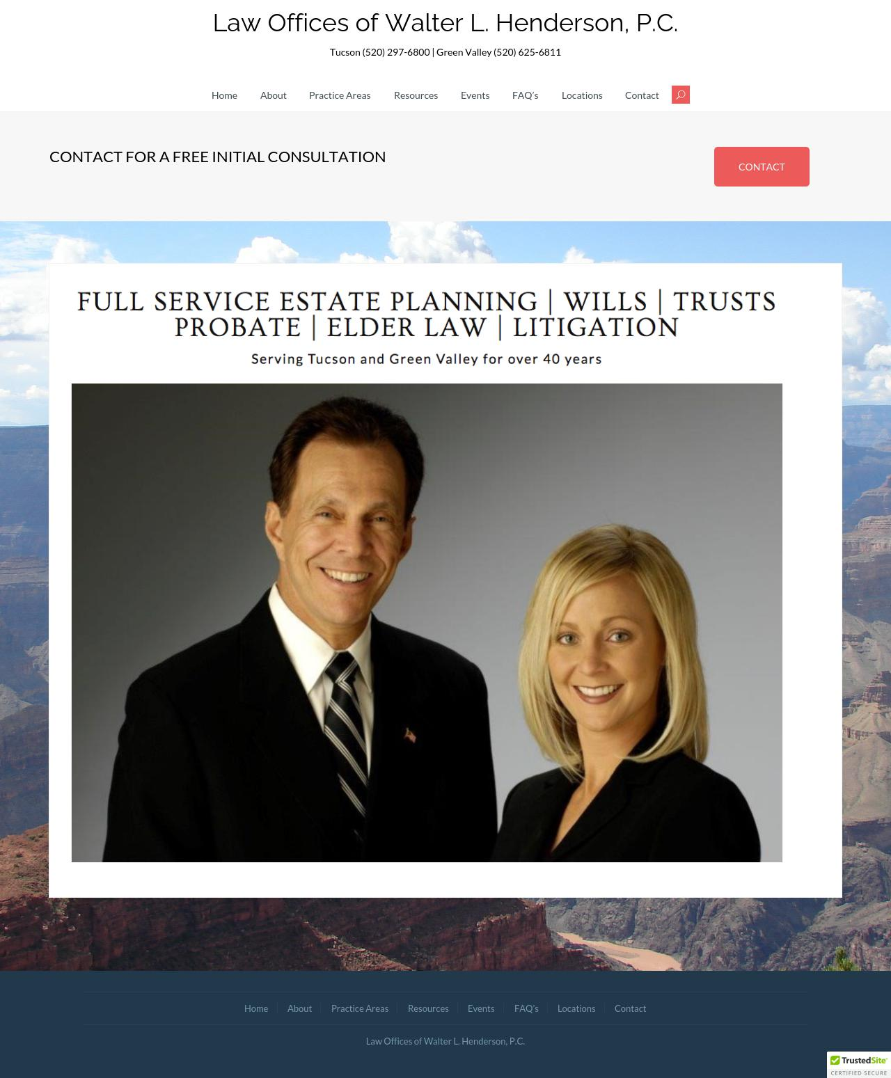 Henderson Walter L. P.C. - Green Valley AZ Lawyers