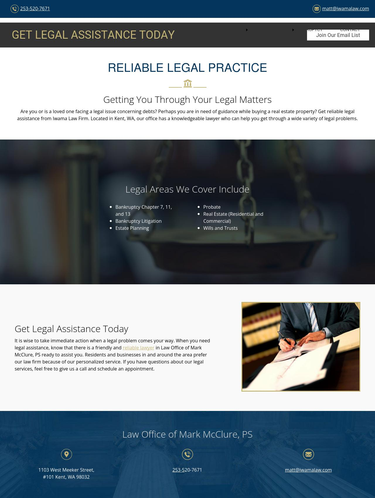 Iwama Law Firm - Kent WA Lawyers