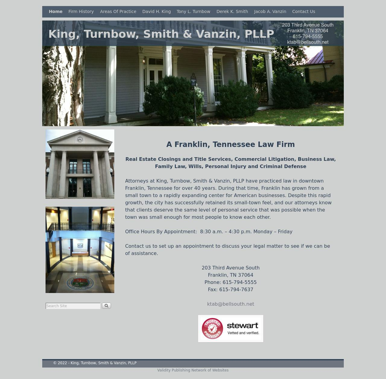 King, Turnbow & Brisby - Franklin TN Lawyers