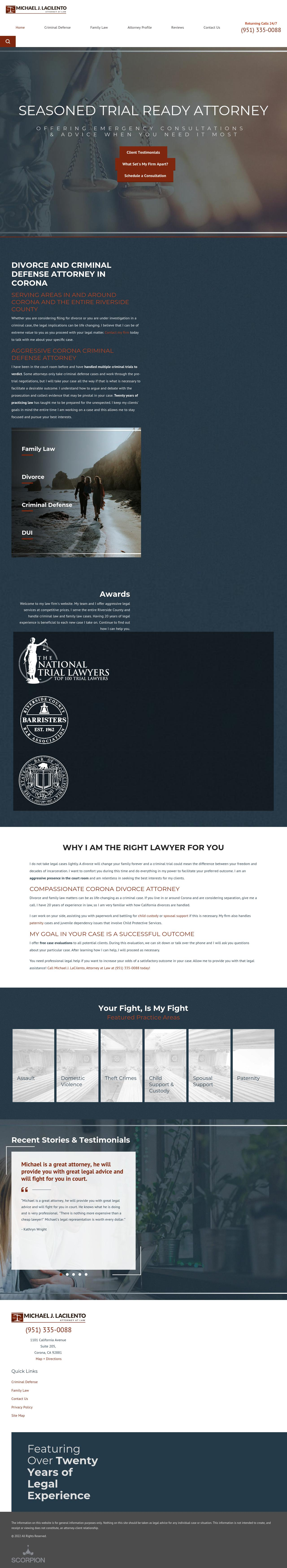 La Cilento Michael Attorney At Law - Corona CA Lawyers