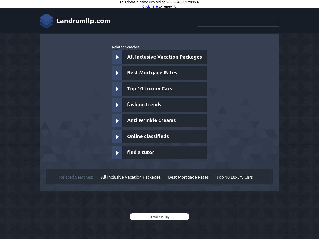 Landrum LLP - San Jose CA Lawyers