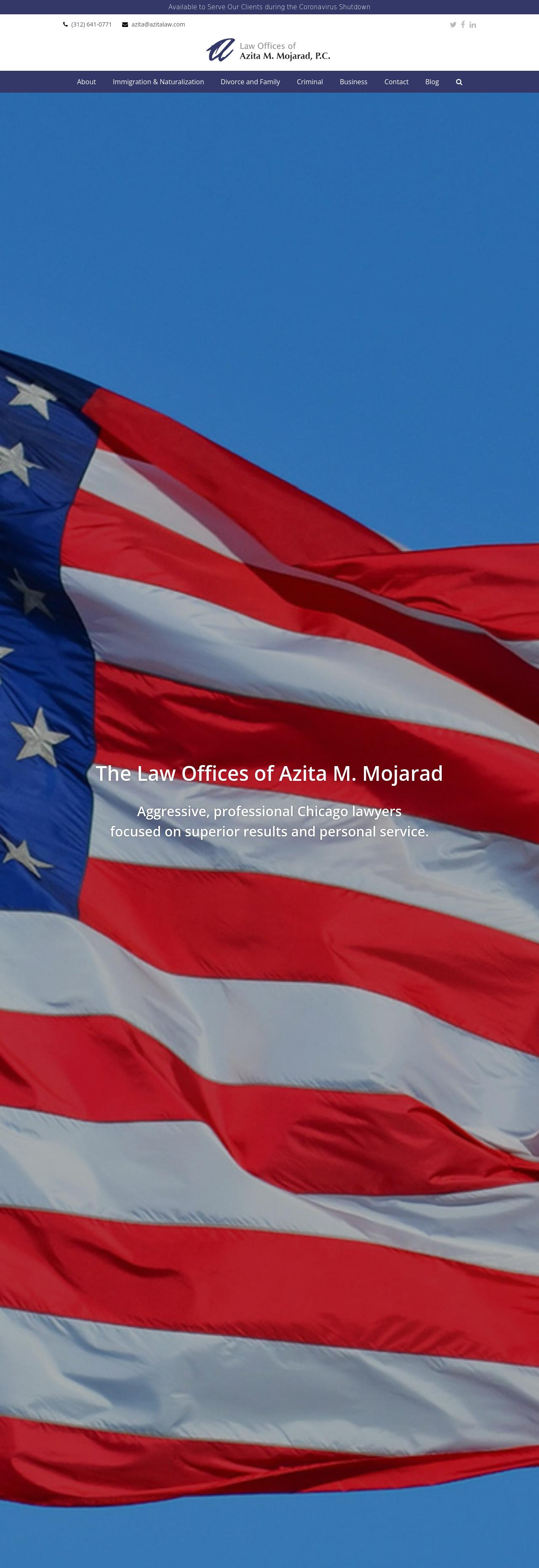 Law Offices of Azita M. Mojarad, P.C. - Chicago IL Lawyers