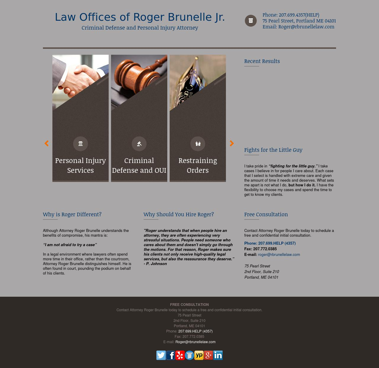 Law Offices of Roger F. Brunelle, Jr. - Portland ME Lawyers
