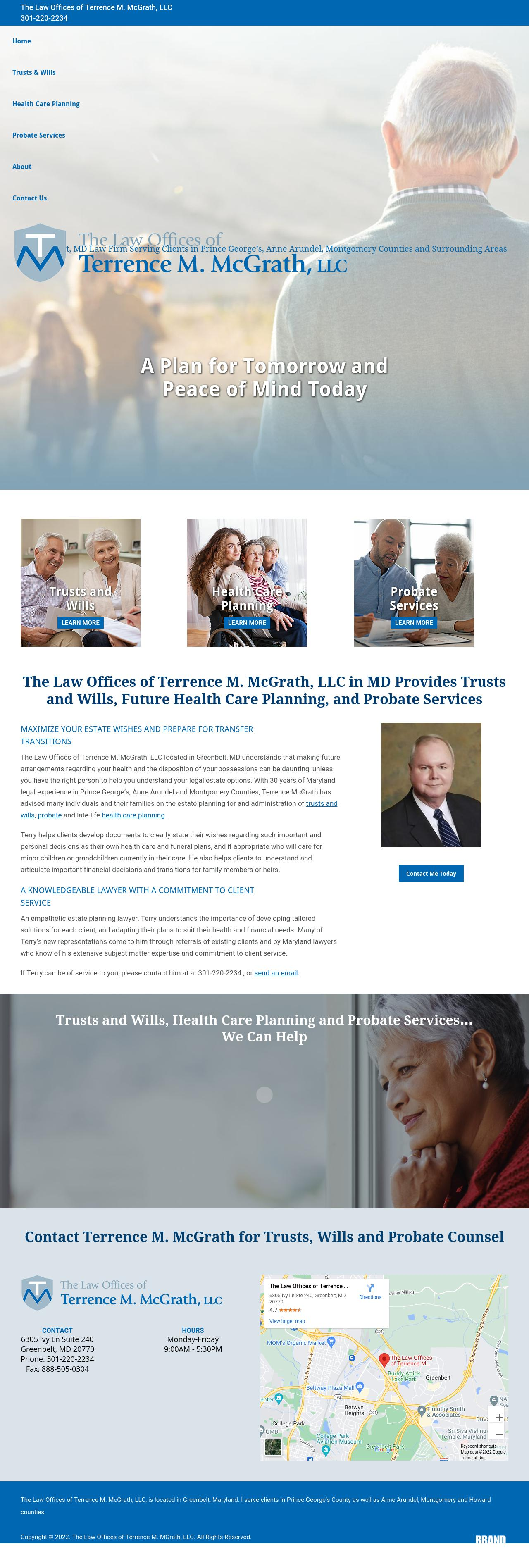 Law Offices of Terrence M. McGrath, LLC - Greenbelt MD Lawyers