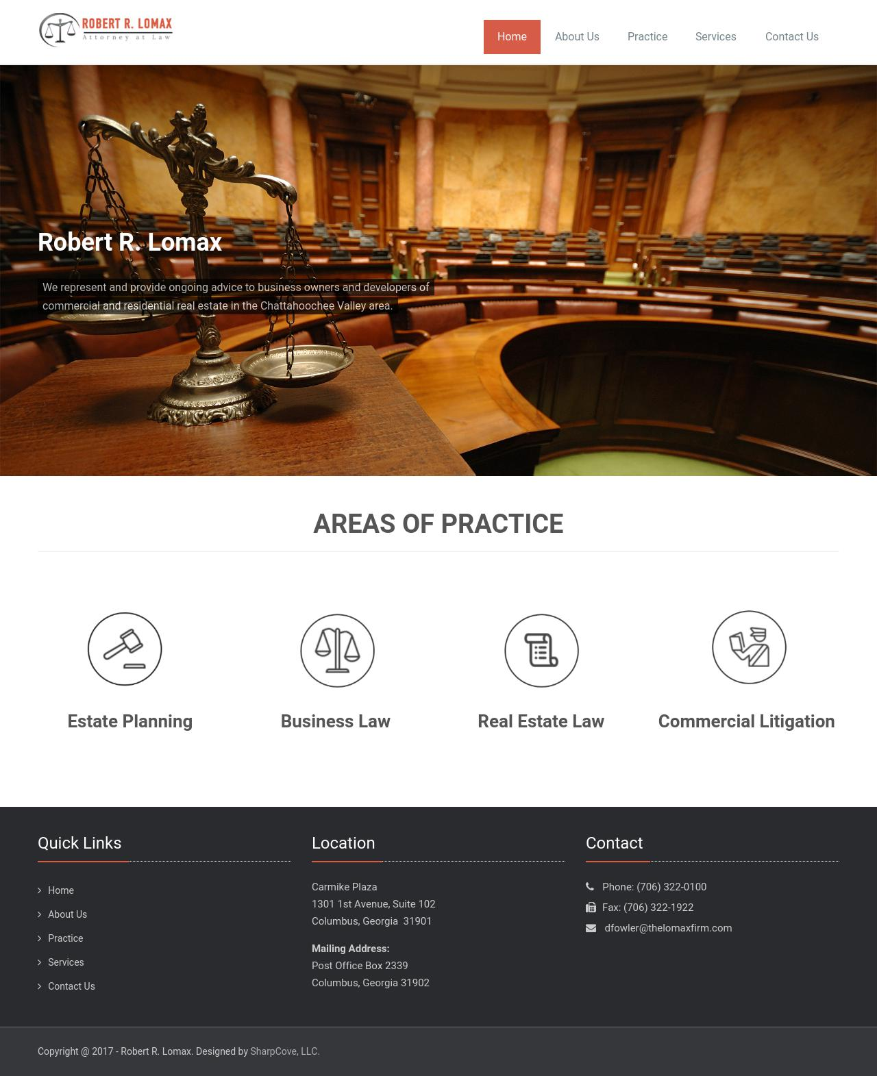 Lomax Robert R - Columbus GA Lawyers