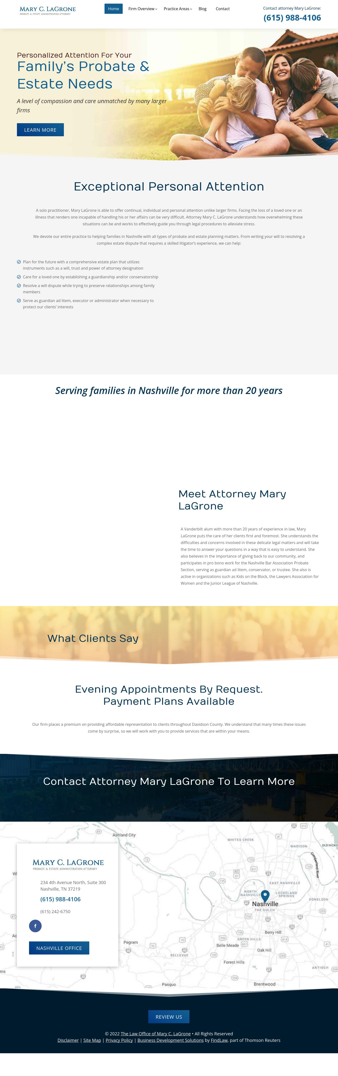 Mary C. LaGrone - Nashville TN Lawyers