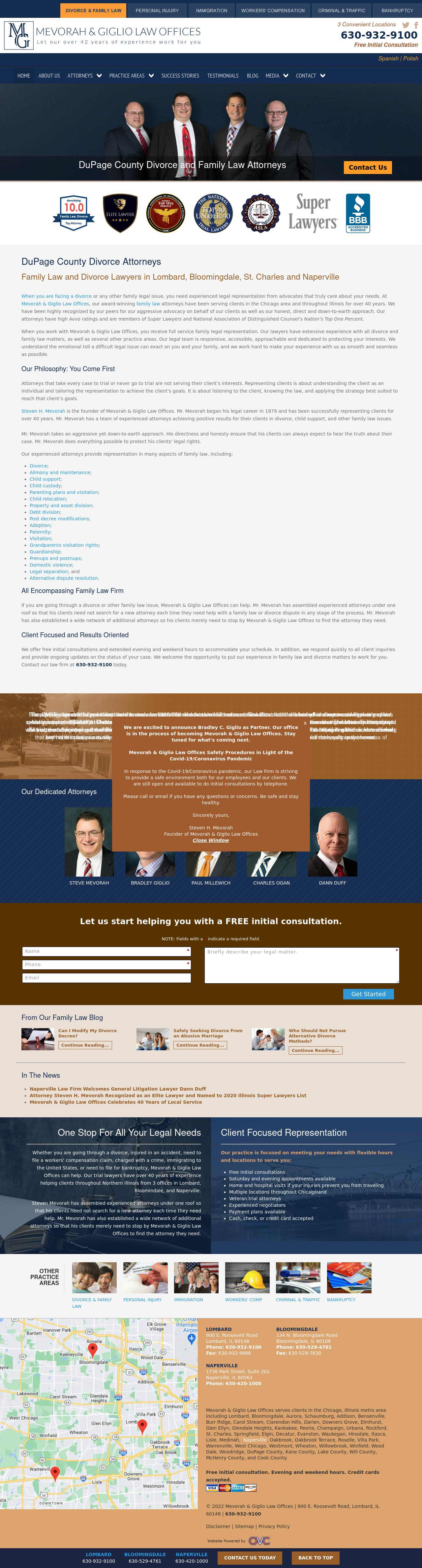 Mevorah Law Offices LLC - Joliet IL Lawyers