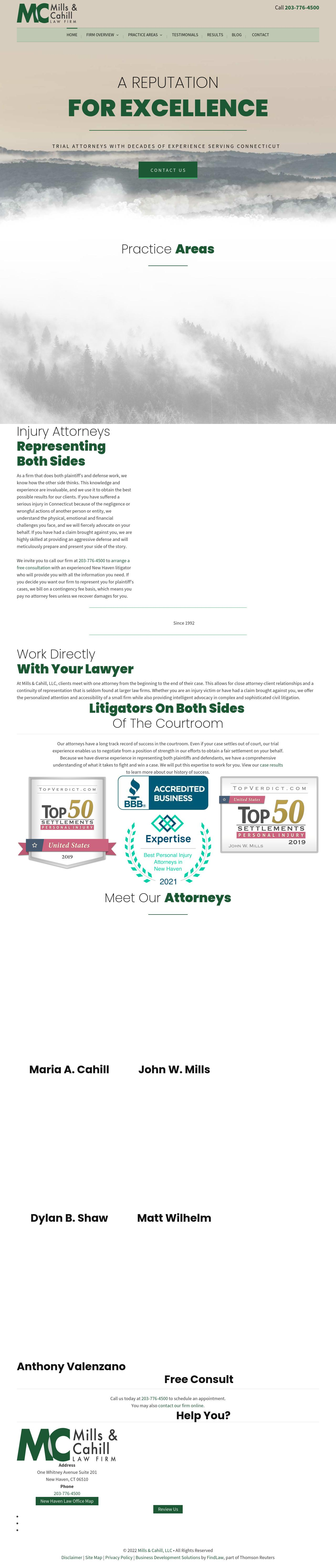 Mills Law Firm, LLC - New Haven CT Lawyers