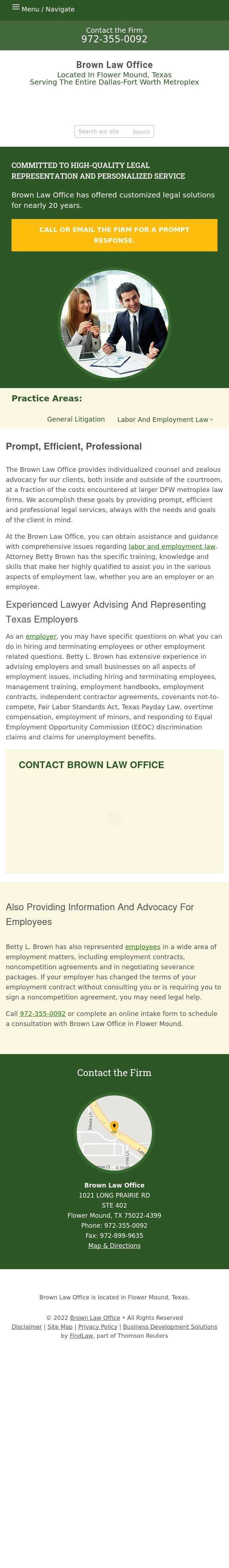 Betty Brown Law Office - Flower Mound TX Lawyers