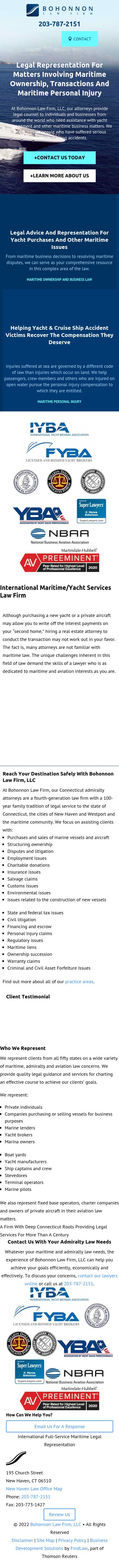 Bohonnon Law Firm, LLC - New Haven CT Lawyers