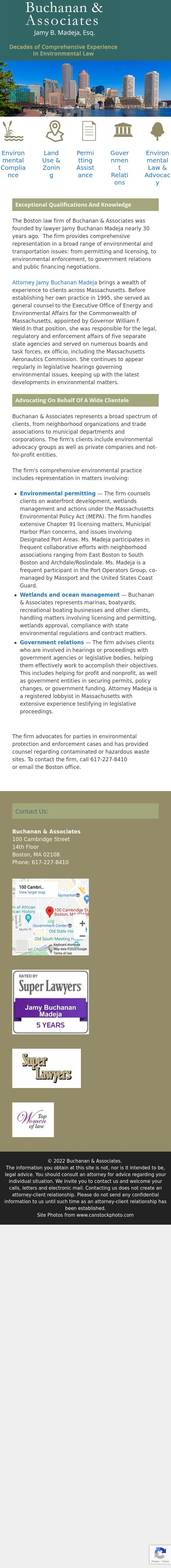 Buchanan & Associates - Boston MA Lawyers