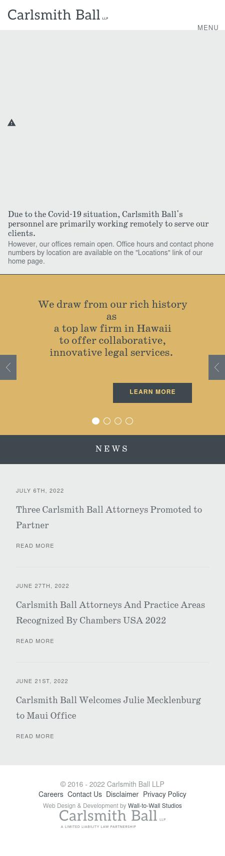 Carlsmith Ball LLP - Los Angeles CA Lawyers