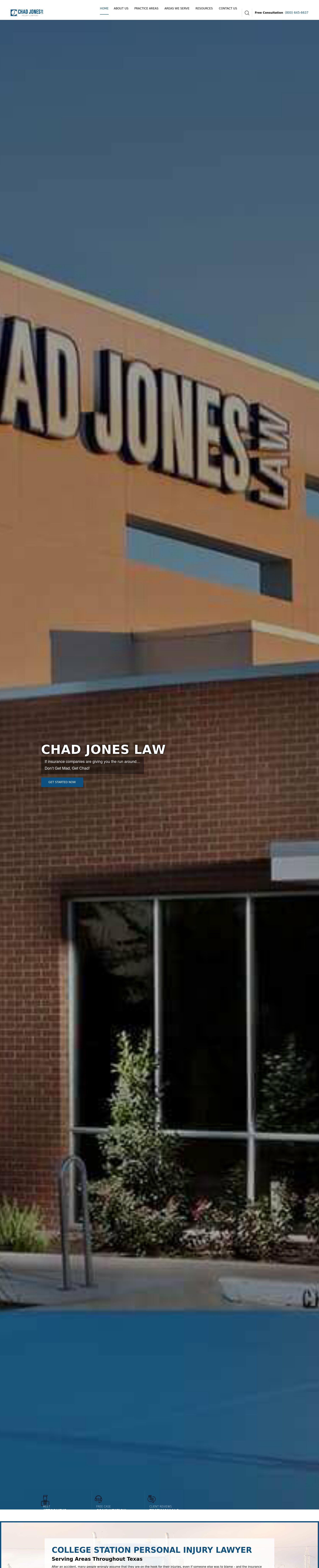 Chad Jones Law - Waco TX Lawyers