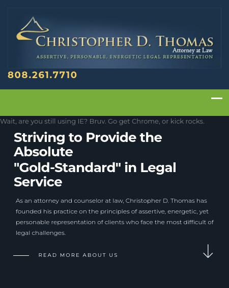 Christopher D. Thomas - Honolulu  HI Lawyers