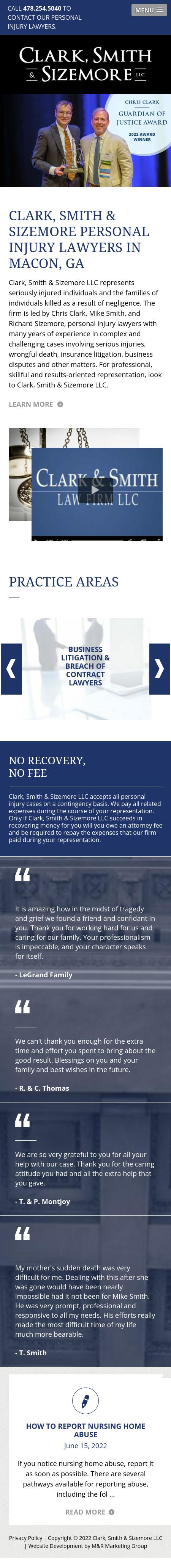 Clark & Smith Law Firm LLC - Macon GA Lawyers