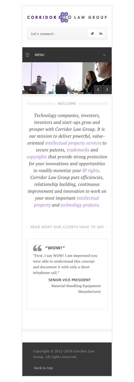 Corridor Law Group - Chicago IL Lawyers