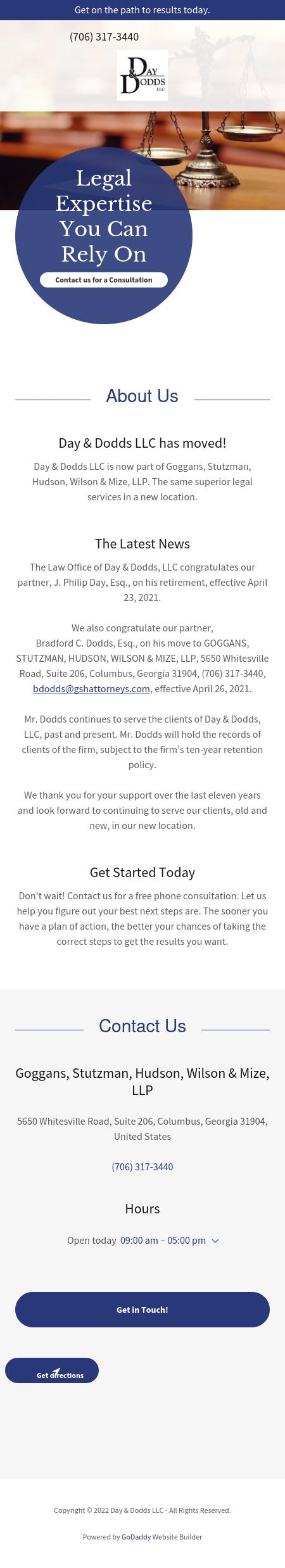 Day & Dodds LLC - Columbus GA Lawyers