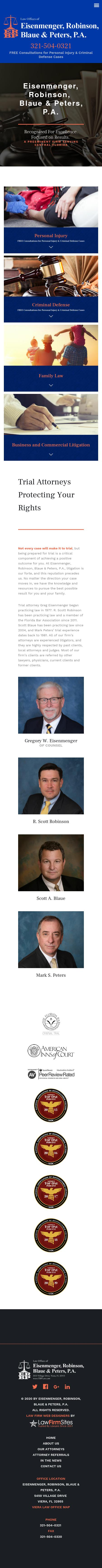 Eisenmenger, Berry, Blaue & Peters, P.A. - Viera FL Lawyers