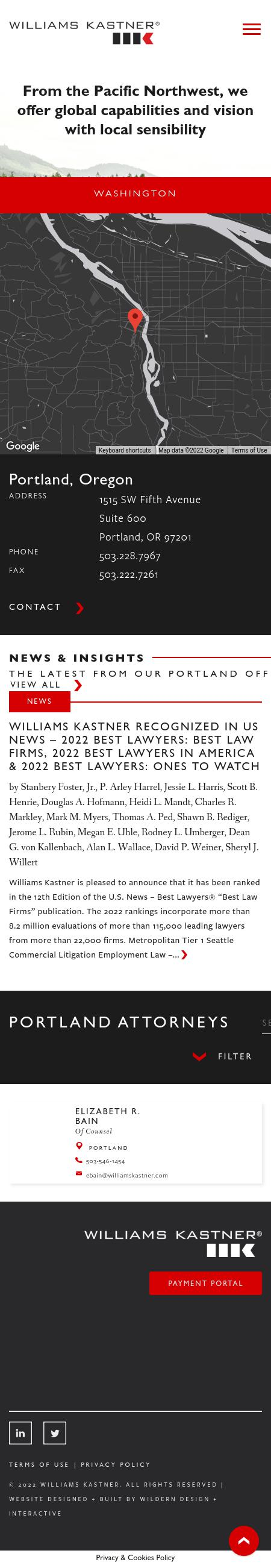 Greene & Markley PC - Portland OR Lawyers