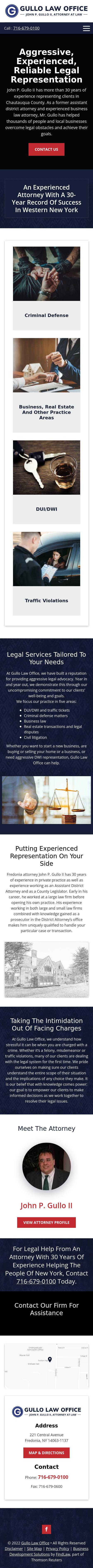 Gullo Law Office - Fredonia NY Lawyers