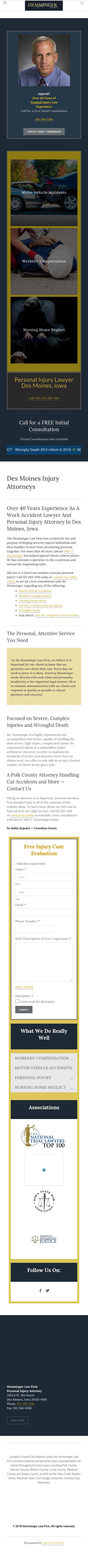 Hemminger Law Firm - Des Moines IA Lawyers