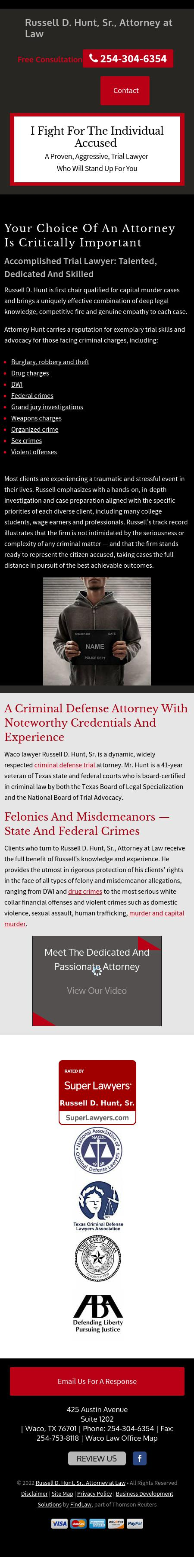 Hunt & Tuegel PLLC - Waco TX Lawyers