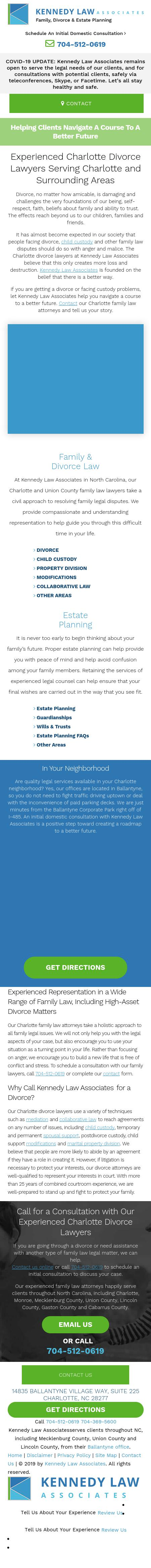 Kennedy Law Associates - Charlotte NC Lawyers