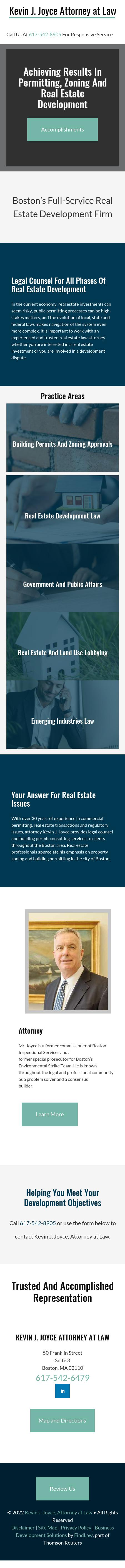 Kevin J. Joyce, Attorney at Law - Boston MA Lawyers