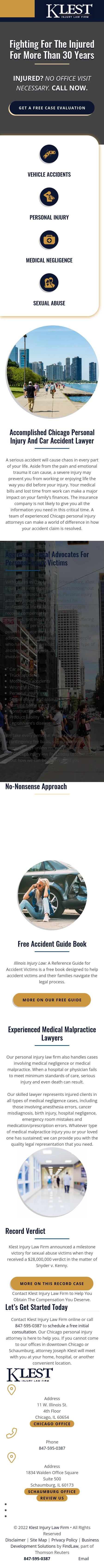Klest Injury Law Firm - Chicago IL Lawyers