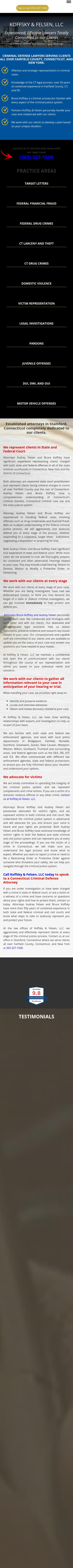 Koffsky & Felsen, LLC - Stamford CT Lawyers