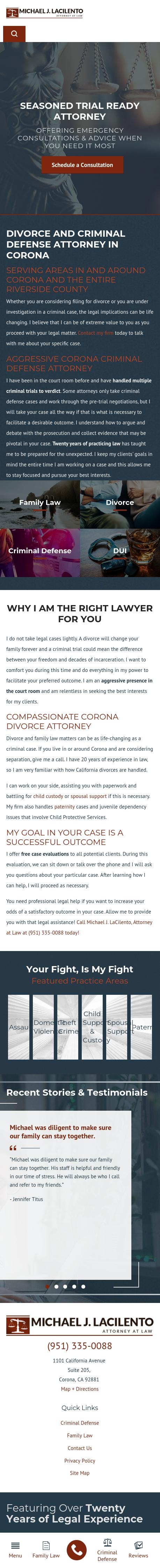 Law Office of Lucy M Bishop - Corona CA Lawyers