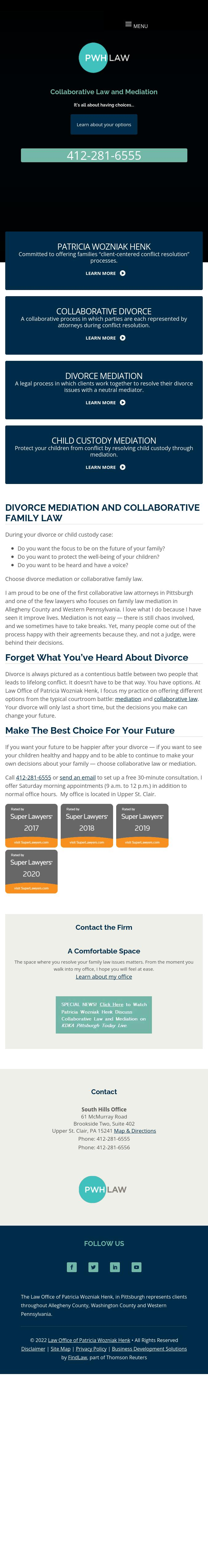 Law Office of Patricia Wozniak Henk - Pittsburgh PA Lawyers