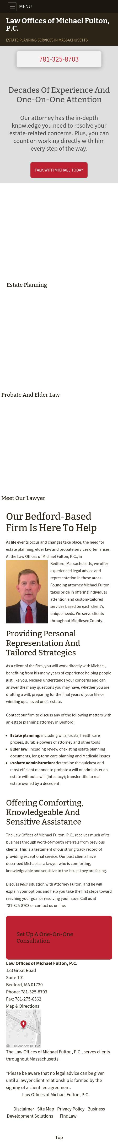 Law Offices of Michael Fulton, P.C. - Bedford MA Lawyers