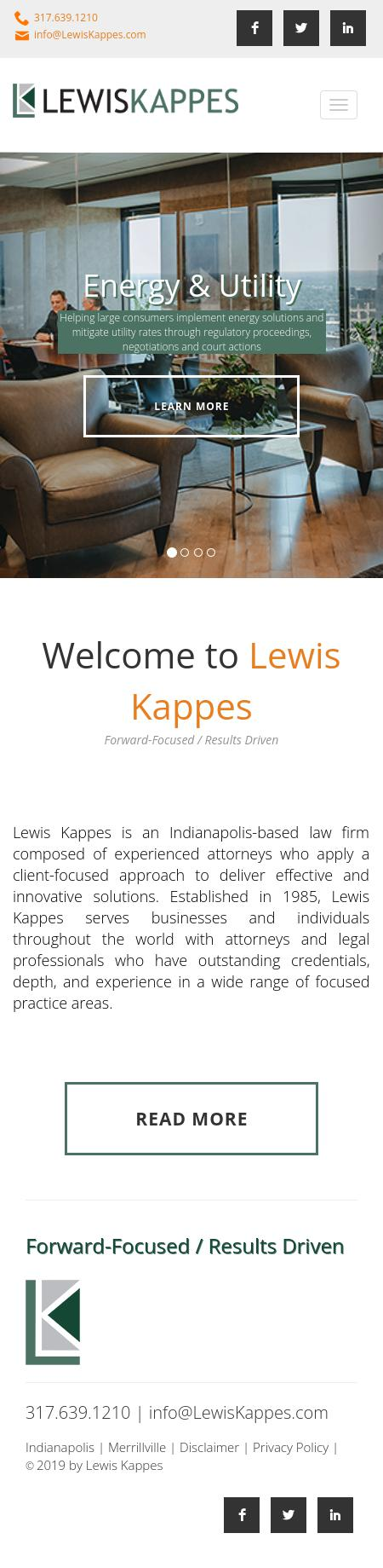 Lewis & Kappes - Indianapolis IN Lawyers