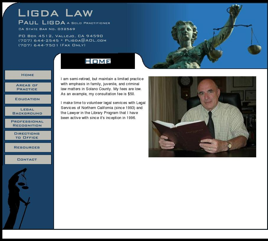 Ligda, Paul Lawyer-Atty | Vallejo CA Law | LawyerLand