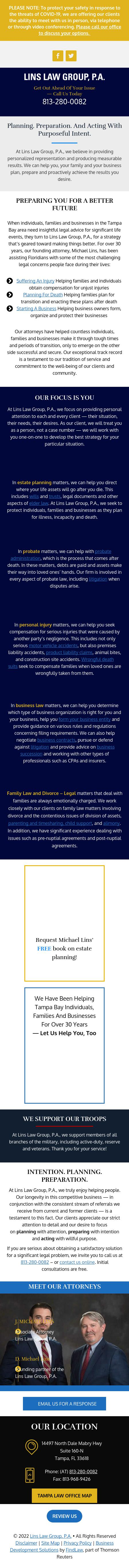 Lins Law Group, P.A. - Tampa FL Lawyers
